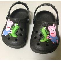 Sapato Infantil Croc Peppa Pig George Pig Luelua 17ao27/28