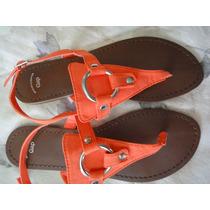 Sandalias De Couro Gap Importada Original & Nova Lancamento
