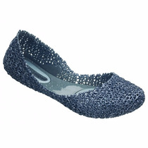 Campana Azul Glitter Melissa Nova