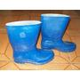 Bota Tipo Galocha, Azul, Emborrachada, Nº30