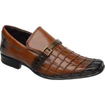 Sapato Masculino Couro Promoção Aproveite! - Frete Gratis