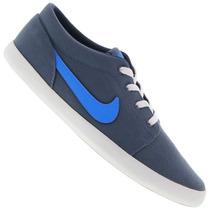 Tênis Masculino Nike Futslide Azul Snob Calçados-s2