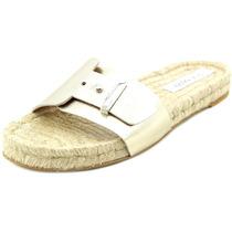 Steve Madden Monicoo Couro Envernizado Slides Sandália