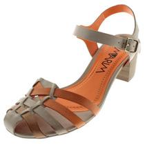 Sandália Ramarim Salto Médio 1487202 - Maico Shoes