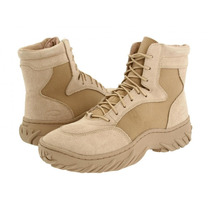 Bota Oakley Assault Boot Desert 6 Pol Militar Exercito