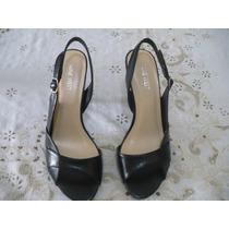 Sapato Feminino Salto Nine West Importado Novo 38