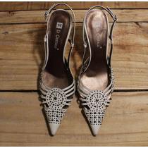 Sapato Sandália Scarpin Salto - Di Cristalli ! Veja Fotos