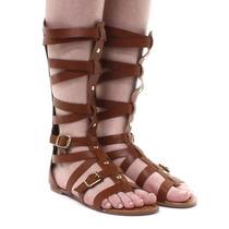 Sandália Dakota Gladiadora Marrom | Zariff