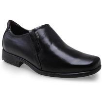 Sapato Social Pegada Masculino 100% Couro - 2210111 Preto