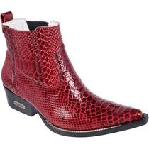 Bota Texana Masculina Cobra Anaconda Capelli Boots