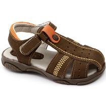 Sandália Infantil Ortopasso 6340 Castor | Pixolé Calçados