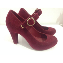 Sapato Feminino Melissa - Camurça Flocada 35