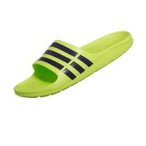 Chinelo Adidas Duramo Slide Verde Limão