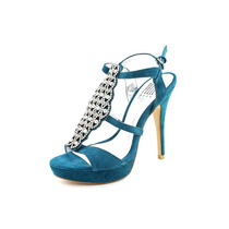 Pelle Moda Sapato Aberto Nos Dedos De Camurça Meia-pata Fiby