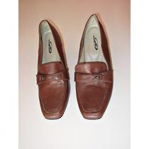 Sapato Feminino, Tamanho 35, Em Couro Legítimo, Calçado