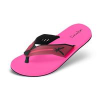 Sandália Kenner Trop Paint Preto/rosa