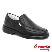 Sapatos Franca Alcalay Linha Relax Couro Legítimo