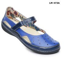 Sapato (sistema Comfort) Estilo Retro Em Couro Nr.37