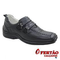 Sapato Franca Alcalay Preto Hercules 0404p - Alcalay