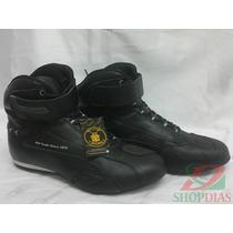 Bota Tênis Motociclista Boots Company Titanium Falcon