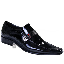 Sapato Social De Verniz - Lançamento 2015! 100% Couro. Lbm