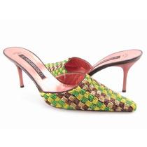 Sapato Mule Monte Napoleone Novo De $897 Por 99 Super Grife