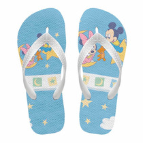 Chinelo Infantil Mickey E Minnie Baby