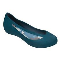 Abaixei!!! Melissa Night Azul Fosca N° 35 - Nova