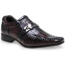Sapato Social Masculino Em Couro Rafarillo 7849 Fivela 2015