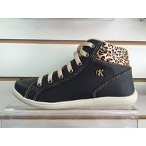 Botinha Bota Sapato Ck Calvin Klein Cano Curto