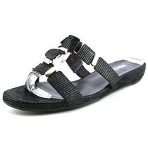 Vaneli Blisse N / S Leather Slides Sandália