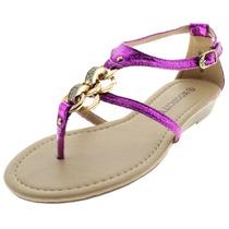 Sandália Feminina Mooncity Rasteira 20726 - Maico Shoes