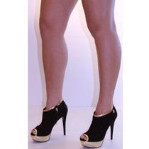 Open Boot Sapato Feminino Lança Perfume