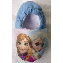 Pantufa Frozen Anna Elsa Olaf Personalizadas Com Nome