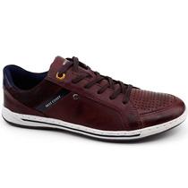 Sapato Casual West Coast 114708 Vinho | Pixolé Calçados
