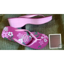 Chinelo Havaiana High Salto Rosa 41/42