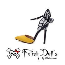 Pronta Entrega! Sapato Stiletto Fetish Doll