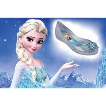 Sapatilha Infantil Grendha Frozen Elza Disney 21379 Azul