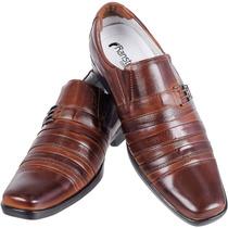 Sapato Leve Macio Conforto Antistress Couro De Cabra 010