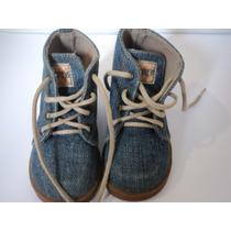 Tênis Sapato Bota Botinha De Bebê Pampili Jeans 20