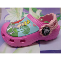 Crocs Infantil Rosa Das Princesas Crocs
