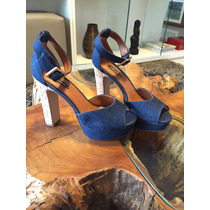 Sandália Plataforma Jeans - Arezzo
