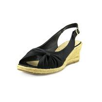 Bella Vita Sangria Ww Peep Toe Synthetic Wedge Sandal