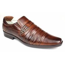 Sapato Social Masculino Em Couro Estilo Italiano Sofisticado