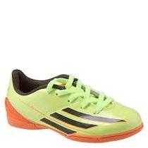 Chuteira Adidas Futsal F5 In Verde/laranja