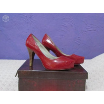 Sapato Marri Em Verniz Vermelho, Nº35