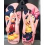 Chinelo Havaianas Personalizado - Mickey Minnie