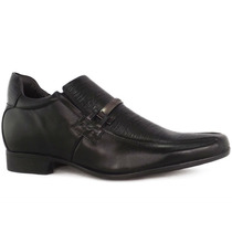 Sapato Rafarillo Aumenta Altura Em 7cm Couro Legítimo 3227
