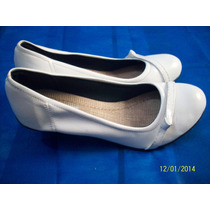 Sapato Feminino Branco Avila Enfermeira Noiva N 39