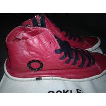 Bota / Botinha /tênis /sapatênis /vermelha Osklen Rm.